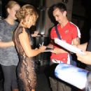 """Hayden Panettiere - Leaving A Private Screening Of """"I Love You, Beth Cooper"""", 2009-07-06"""