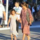 Halle Berry takes her daughter Nahla Aubry to the Grove in Los Angeles, California on June 17, 2016 - 454 x 543