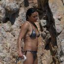 Michelle Rodriguez – Bikini at Hotel Du Cap Eden Roc - 454 x 681