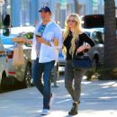 Avril Lavigne and boyfriend Phillip Sarofim – Out in Beverly Hills - 454 x 363