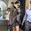 Kendall Jenner – Leaving Versace Showroom in Milan