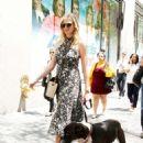 Kate Upton –  Walking her dog in New York