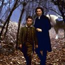 Marc Pickering and Johnny Depp in Sleepy Hollow - 11/99