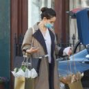 Lily James – Shopping candids near her Primrose Hill home