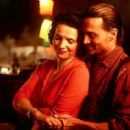 "Juliette Binoche with Johnny Depp from ""Chocolat"""