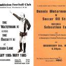 Dennis Waterman - Charity Football - 454 x 325