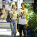Miley Cyrus and Cody Simpson – Nightout in Studio City