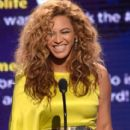 Beyonce accepts the award for Best Female R&B Artist onstage during the 2012 BET Awards at The Shrine Auditorium on July 1, 2012 in Los Angeles