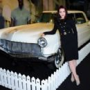 Priscilla Presley visits the 'Elvis at the 02' exhibition at 02 Arena on December 15, 2014 in London, England