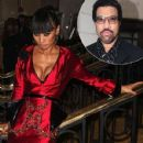 Bai Ling and Lionel Richie