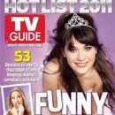 Zooey Deschanel, New Girl - TV Guide Magazine Cover [United States] (17 November 2011)