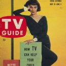 Phyllis Kirk on a TV Guide cover - 454 x 689