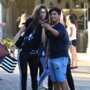 Zendaya Coleman is seen shopping with her mom and dog at the Grove in Los Angeles, California on August 12, 2016 - 454 x 592