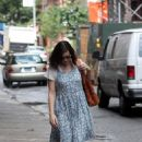 Actress Liv Tyler Was Seen Walking Around Soho On August 11 2008 In New York City