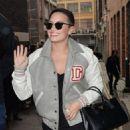 Demi Lovato Leaving Her Hotel In London