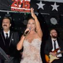 Hülya Avsar Concert Performance on Günay Restaurant (Dec. 31, 2014)