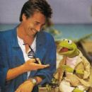 Don Johnson and Kermit the Frog 1986 -