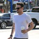 Brian Austin Green at Coffee Bean
