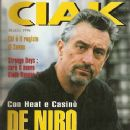 Robert De Niro - Ciak Magazine Cover [Italy] (March 1996)