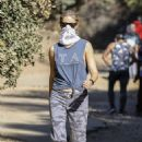 Gwyneth Paltrow – With husband Brad Falchuk hiking in Los Angeles