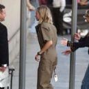 Margot Robbie – Arriving at Jimmy Kimmel Live! in LA