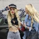 Bella Thorne in Tight Pants out in Hollywood