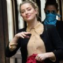 Amber Heard – Arriving at the Royal Courts of Justice in London