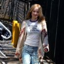 Olivia Wilde at the 'Life Itself' movie set in Staten Island - 454 x 779