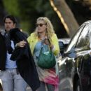Busy Philipps: on the set of Cougartown in LA
