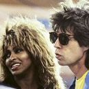 Mick Jagger and Tina Turner