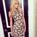 Paris Hilton wears Alice - Instagram March 16, 2014