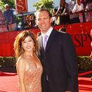 Kristi Yamaguchi and Bret Hedican at the 17th Annual ESPY Awards.