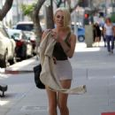 Courtney Stodden in Shorts Out in Beverly Hills - 454 x 661