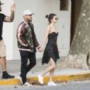 Selena Gomez and The Weeknd is seen out and about  in  Buenos Aires, Argentina March 28, 2017