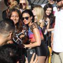 Demi Lovato performs at Jimmy Kimmel Live TV Show September 1, 2015