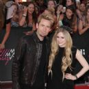 Avril and Chad at the Much Music Video Awards in Toronto - Red Carpet (16 June 2013)