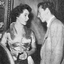Elizabeth and singing star Vic Damone