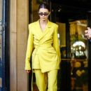 Kendall Jenner – Out at Paris Fashion Week in Paris
