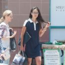 Jordana Brewster hits the town with a friend on July 10, 2016