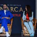 Salma Hayek – 'Monarca' Press Conference in Mexico City