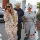 Amber Rose – Arrives at Il Pastaio in Beverly Hills - 454 x 667