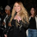 Mariah Carey at Mr. Chow Restaurant in Beverly Hills