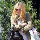 Dakota Fanning was spotted leaving school today, April 25, in Studio City, CA.
