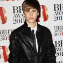 Justin Beiber on the red carpet for The BRIT Awards 2011 at the O2 Arena February 15, 2011 London, England