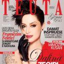 Dafina Zeqiri - TEUTA Magazine Cover [Albania] (January 2013)