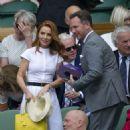 Geri Halliwell – Wimbledon Tennis Championships 2019 in London - 454 x 558