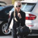 Kimberly Stewart leaving a spa in West Hollywood, California on January 25, 2014 - 454 x 585