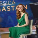 Jessica Chastain on Today show in New York