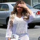 Blac Chyna and Rob Kardashian Out in Calabasas, California - April 21, 2016 - 402 x 600