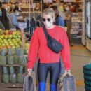 Emma Roberts – Shopping candids at Erewhon Market in West Hollywood